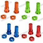 CNC Tusk Rim Lock Nuts Spacer Kit for Honda Yamaha KTM Suzuki Kawasaki MX Enduro