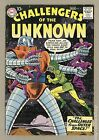Challengers of the Unknown (1958 DC 1st Series) #12 VG 4.0