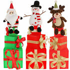 Pre Lit GiftTower Colour Change LED Christmas Decoration Reindeer Santa Snowman