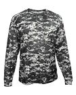 Badger 2184 Digital Camo Youth Long Sleeve T-Shirt