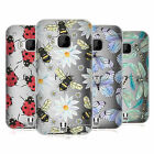 HEAD CASE DESIGNS WATERCOLOUR INSECTS SOFT GEL CASE FOR HTC PHONES 1