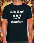 For your Happiness T shirt Divertente 40 Anni Compleanno Idea Regalo QUARANTA