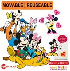 Mickey Minnie Mouse Wall Sticker Decor Movable Removable Decal Reusable Kids DIY