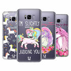 HEAD CASE DESIGNS SASSY UNICORNS HARD BACK CASE FOR SAMSUNG GALAXY S8+ S8 PLUS