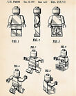 Patent Print Lego Toy Figures Minififures Mini Figures Baby Boys Bedroom Ideas