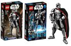 LEGO STAR WARS Captain Phasma 75118 Buildable Figures 26 CM Rare NEW