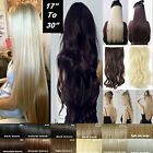 Double Thick 120-200G Full Head Weft Clip in natural Hair Extensions as huma hn5