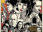 Pulp Fiction Movie Large Wall Poster Giant Photo Quality Print A2 A1 A0