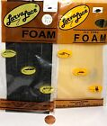 """Larva Lace Precut Fly Tying Foam 3 1/4"""" X 8"""" Choice of Color & Quantity"""