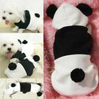 Cute Hoodie Costume Dog Clothes Pet Jacket Coat Puppy Apparel Panda Sweater
