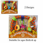 SOFT ACTIVITY CENTRE FOR BUGGY/PUSHCHAIR/PRAM- BABY/TODDLER  TOY -1ST CLASS POST