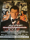 "1997 JAMES BOND 007 ""TOMORROW NEVER DIES"" ORIGINAL LARGE POSTER FINLAND ISSUE £4.0 GBP"