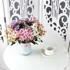 20 Head Artificial Flower Fake Daisy Leaf Branch Party Wedding Home Floral Décor