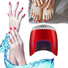 48W LED UV Gel Nail Lamp With Timer Nail Dryer For Hand Leg Nail Art Curing