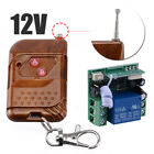 12V 10A Relay 1CH Wireless RF Remote Control Switch Transmitter Module +Receiver