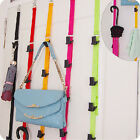 Over Door Hanging Lanyard Hanger Handbag Coat Hat Tidy Storage Organizer Hook