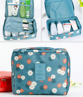 Simple Cute Makeup Toiletry Case Pouch Flower Wash Bag Organizer Cosmetic Bag