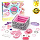 Kids Spa Set Pretend Play Inflatable Pedicure Pool Nail Polish Girls Toys Gift