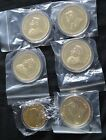 6 x gold plated coins no reserve