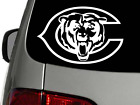 Chicago Bears Vinyl Decal Sticker, high quality, white, CHOOSE SIZE