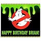 Ghostbusters Birthday Banner Party Backdrop Decoration for sale  Addison