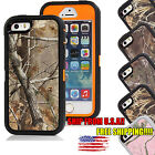 For iPhone 5 5S 5SE Protective Shockproof Camo Rugged Hybrid Rubber Case Cover