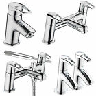 BRISTAN SMILE TAPS BASIN MIXER BATH SHOWER FILLER CHROME MONO BATHROOM SINK NEW