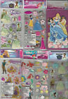 U CHOOSE Assorted Disney & Sandylion Etc. PRINCESS 3D Stickers & Embellishments