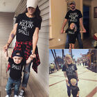 US Dad Mom Baby Kid T-shirt Tops Tee Shirt Blouse Family Matching Clothes Outfit