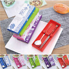 Romantic Korean Stainless Steel Chopsticks and Spoon Set Gift With Box 18.2cm