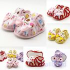 Baby Girls Anti-slip Bowknot Crib Shoes Soft Sole Shoes Prewalker Sandals New