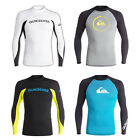 Quiksilver Rashguard Performer / All-Time Surf Swim Beach Wear 4 Styles