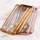 Clear Crystal Diamond Soft TPU Silicone  Case Cover For SamsungS7 Edge/LG/Huawei