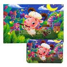 Wood Cartoon Puzzle Jigsaw Hands-on Kid Baby Early Educational Learning Toys
