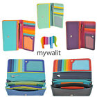 Mywalit Medium Leather Matinee 10 Card Purse Wallet With Pen Various Colours 237 image