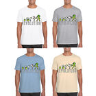 mens t shirt MARENO personalised evolution print novelty top gift summer new