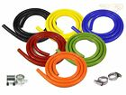 Silicone Vacuum Vac Hose Pipe Tube Clamp Opt Black Blue Green Orange Red Yellow