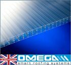 25mm Polycarbonate Roofing Sheets -Various Sizes | Clear, Bronze, Opal | TAPED
