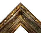 """5.5"""" WIDE Dark Gold Antique photo family Oil Painting Wood Picture Frame 668D"""