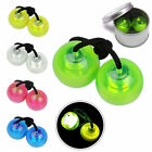 Thumb Chucks Detachable LED Pulse Light *Fidget Toys Brand New* Hand Stress Toy