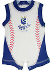 Infant Kansas City Royals Romper MLB Genuine Baseball Baby 1-piece Creeper