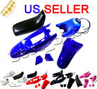 Plastic Fender Body Seat Gas Tank Kit Yamaha PW50 PY50 Blue red black pink white image