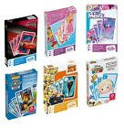 HAPPY FAMILIES CRAZY EIGHTS 2-IN-1 Playing Cards Princess Cars Paw Patrol + MORE