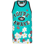 adidas ORIGINALS PHARRELL WILLIAMS DAISY TANK TOP SUMMER VEST TREFOIL SLIM FIT