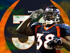 Mike Anderson Denver Broncos NFL Wall Print POSTER US