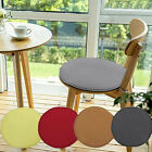 Indoor Dining Garden Patio Home Office Kitchen Round Chair Seat Pads Cushion JR