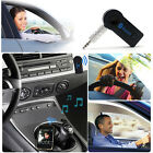 Wireless Car Bluetooth Receiver Adapter 3.5MM AUX Audio Stereo Music Hands-Free