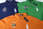 Polo Ralph Lauren SS Big Pony Nautical Flag Yacht Club Mesh Polo Shirt $125 NWT