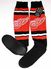 Detroit Red Wings NFL Knee-High Slippers Women's Size 11/12, New w/Tag