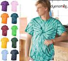 Dyenomite Tie Dyed Cotton Cyclone Pinwheel Short Sleeve T Shirt 200CY up to 3XL image